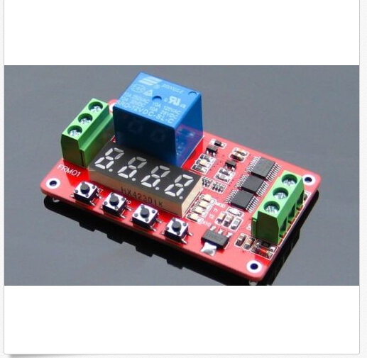 где купить  12V Relay Cycle Timer Module Digital Display led * PLC Home Automation Delay  дешево