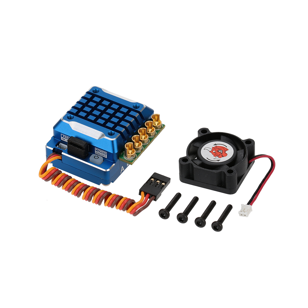 SkyRC TS120 120A 2-3S LiPo Battery Brushless Sensored/Sensorless ESC with 6V/3A BEC for 1/10 1/12 On-road Off-road 1/10 1/8 Car free shipping feike da skyrc toro 8s 150a model car brushless esc electronic speed control