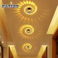 Creative Wall Light Small LED Ceiling Light For Art Gallery Decoration Front Balcony Lamp Porch Light
