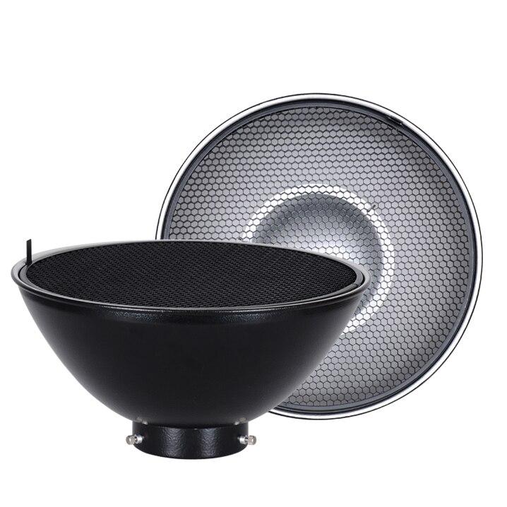 Accessoires d'éclairage photographique plat de beauté mini monture diamètre 300mm