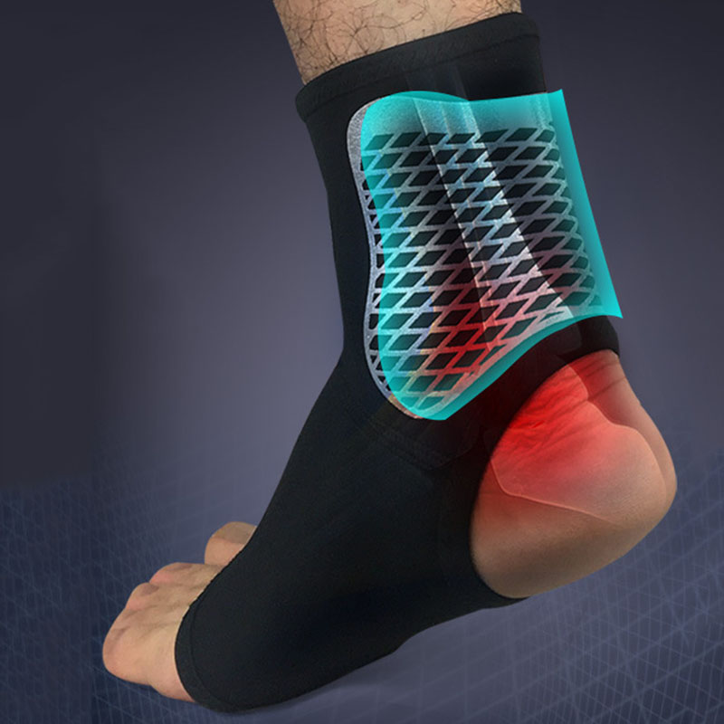 2019 Outdoor Ankle Support Compression Strap Achilles Tendon Brace Sprain Protect For Football Basketball Dancing Climbing 1/2pc