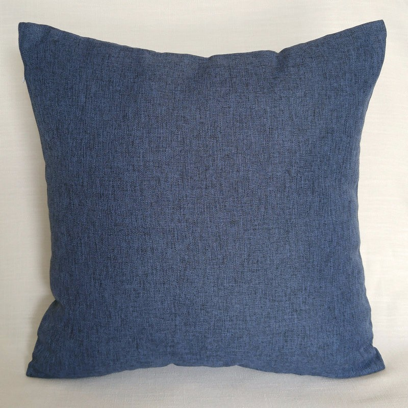 Linen Throw <font><b>Cushion</b></font> <font><b>Cover</b></font> Pillow Cases With Invisible Zipper For Sofa, 45 x 45 cm, <font><b>50</b></font> x <font><b>30</b></font> ,60 x 60 Customized Order image