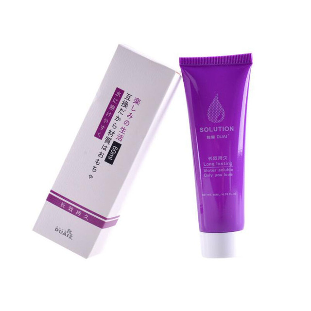 Aloe anal sex lubricant for men 60ml vaginal lubrication water based massage oil