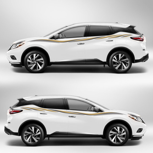TAIYAO car styling sport car sticker For Nissan Murano Mark Levinson ...