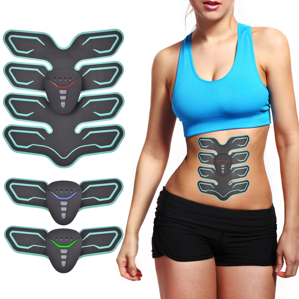 Electrical Abdominal Muscle Stimulator Fitness Weight Loss Body Slimming Product EMS Trainer Muscle Exerciser Training Device цена 2017
