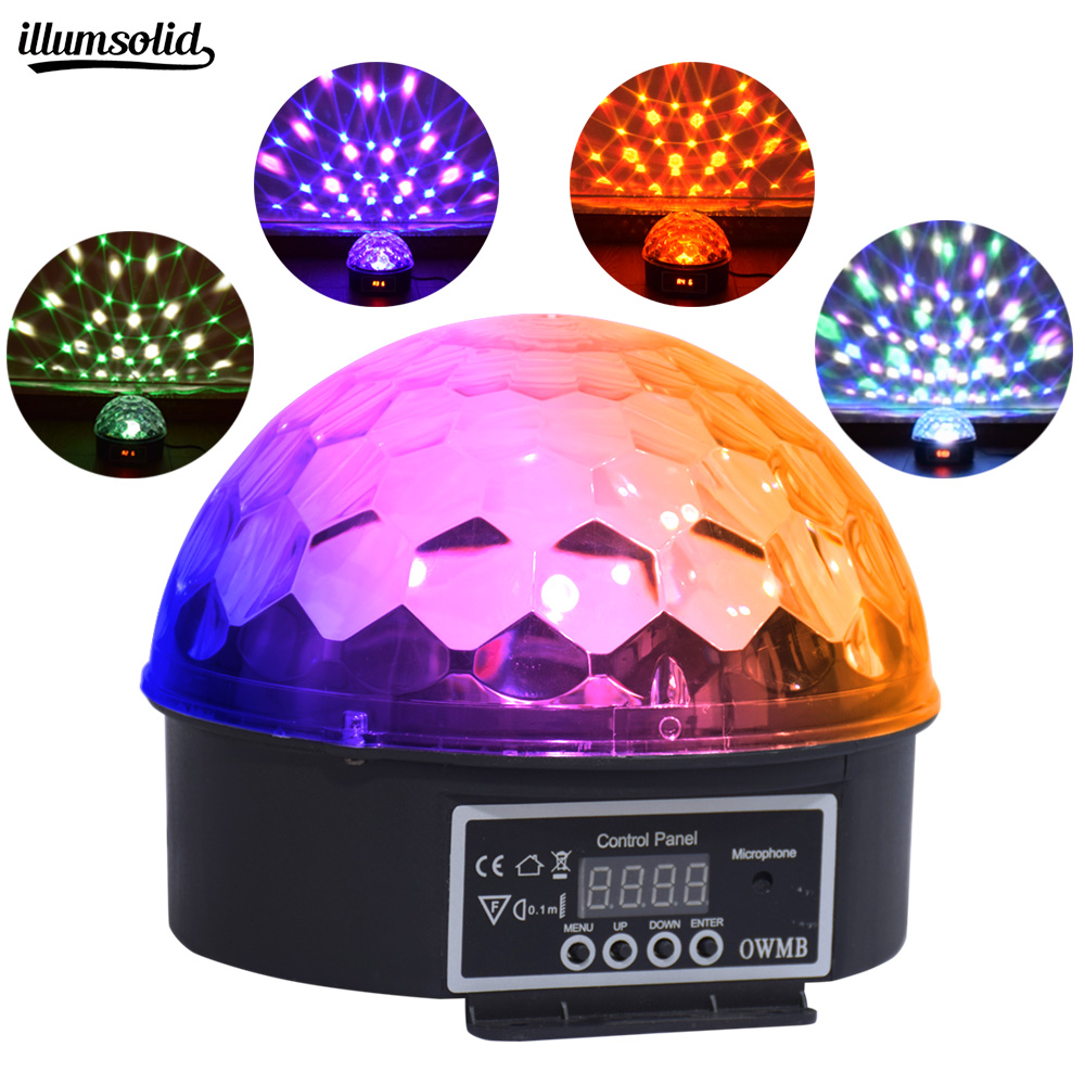 Rotating LED Disco Magic Ball For Christmas, Halloween, Children Room