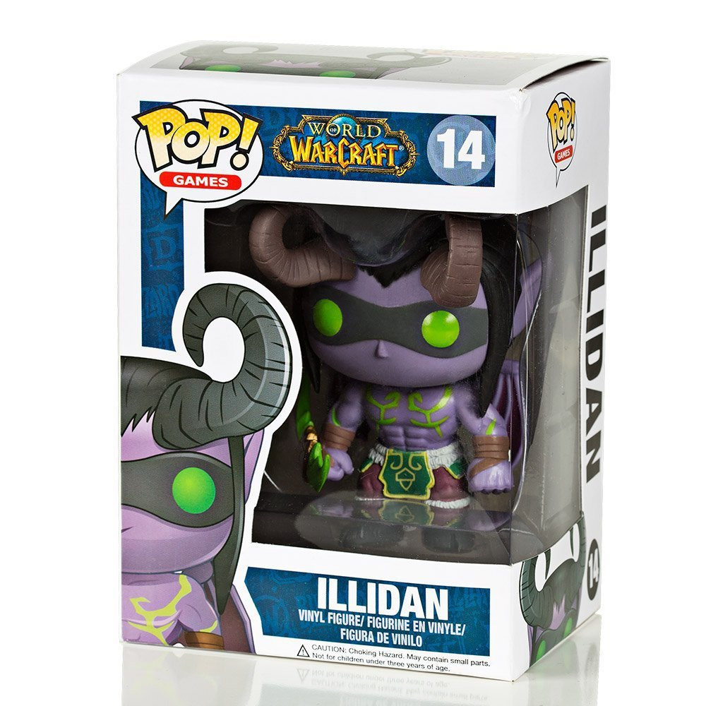 FUNKO POP Games Illidan #14 PVC Action Figure Collectible Model Toy 4
