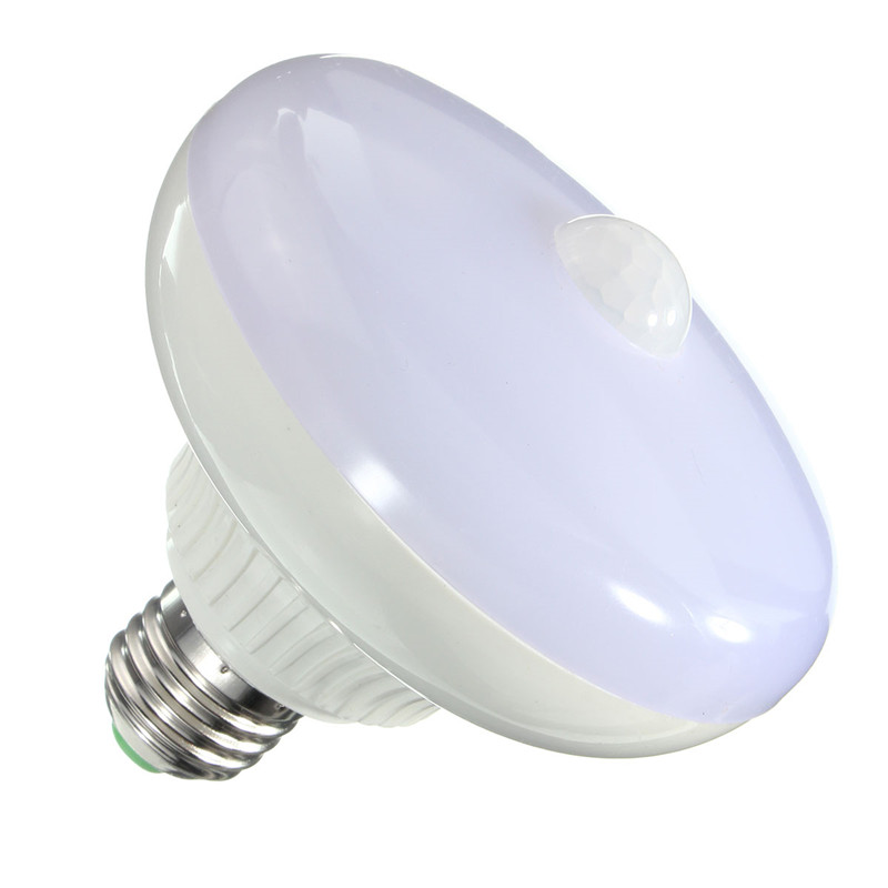 E27 12W 5630 24 SMD LED Auto PIR Motion Sensor Infrared Energy Saving Light Bulb Pure/Warm White AC 85-265V cxhexin g9cx24 5630 g9 5w 3000k 400lm 24 5630 smd led warm white light bulb white ac 85 265v
