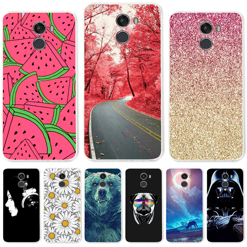 TAOYUNXI Soft TPU Case For Wileyfox Swift 2X Cases For Wileyfox Swift 2X 5.2 Inch Flexible DIY Painted Protective Silicone Cover