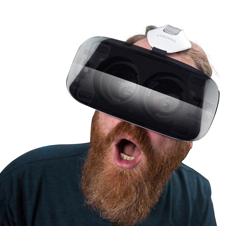 VR Box  VR Virtual Reality Goggles 3D VR Glasses Google Cardboard Headset For 4.5-6.0 Inch Smartphones Earphone 3D Game Movies