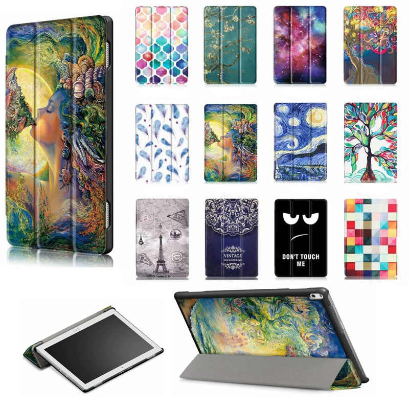 "Case Cover For Lenovo Tab 4 10 Plus TB-X704L X704F L 10.1""Tablet Cases Smart Protective PU Leather Tab4 10 plus TB X704L Covers"