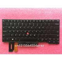 New Original laptop Lenovo ThinkPad THINKPAD T480S E480 L380 L480 Backlit Keyboard with Trackpoint US English 01YP280
