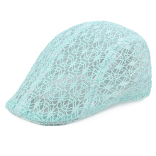 2019 NEW Women Ladies Fashion Lace Beret Driving Sun Cap Casual Cabbie Newsboy Hat
