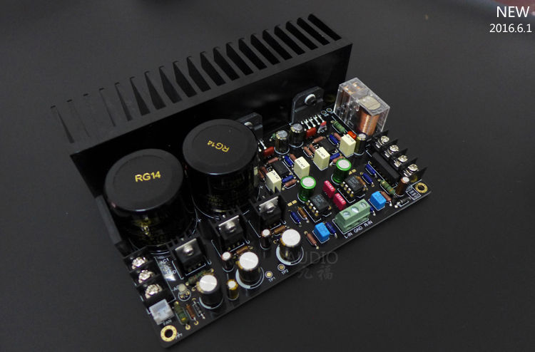 Diy Kit Lm Dc Servo 68w 68w Output Power Amplifier