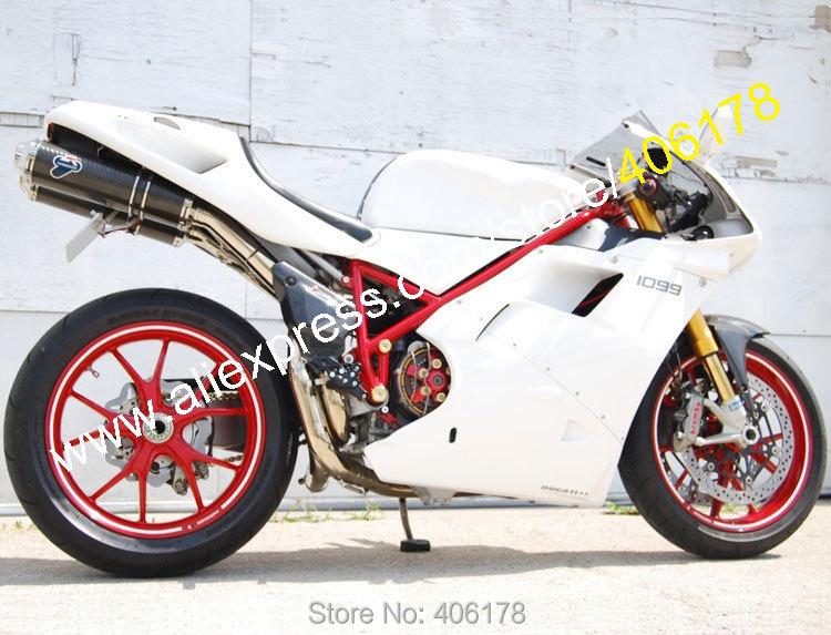 Горячие продаж,для 96 97 98 99 00 01 02 Обтекатели для Ducati 996 748 1996-2002 Белый послепродажного мотоцикл Зализа (литья под давлением)