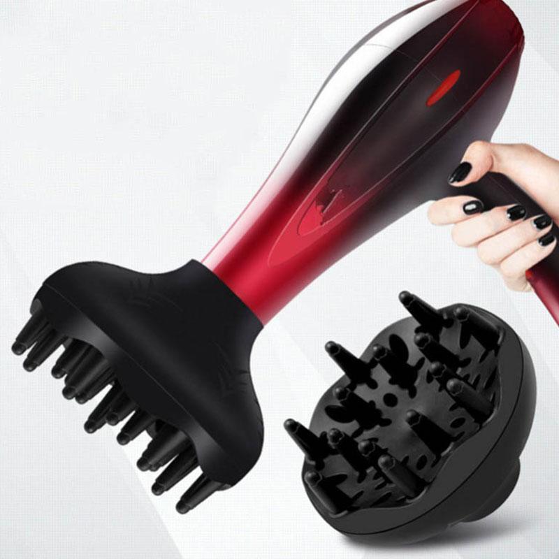 1Pc 4-5Cm Interface Hair Salon Accessories Hair Dryer Curl Salon Accessories Uniform Heat Dissipation Barber Accessories#