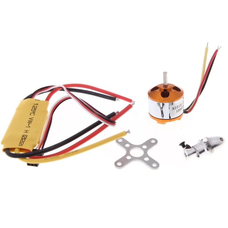 タロット1セットa2212 13 t 2212 930kv 1000kv 1400kv 2200kvブラシレスモーター30a esc用f450 f550 rc quadcopter hexacopter