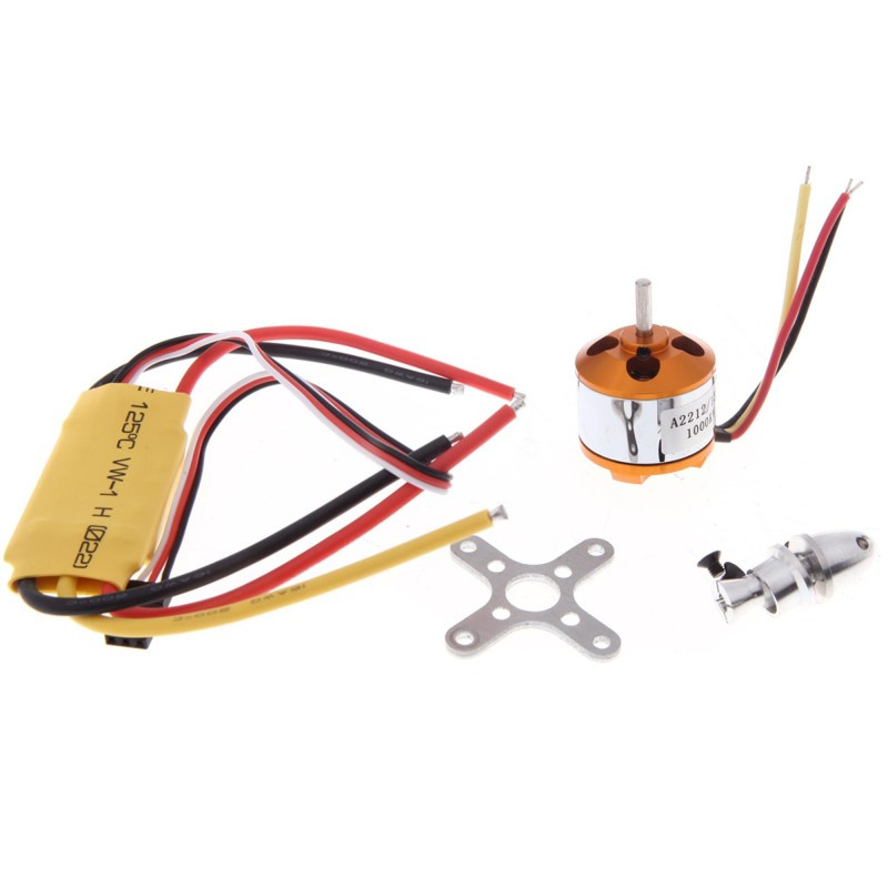 Tarot 1Set A2212 13T 2212 930KV 1000KV 1400KV 2200KV Brushless Motor 30A 40A ESC for F450 F550 RC Quadcopter Hexacopter a2212 6t 2200kv brushless motor set for r c toy golden silver