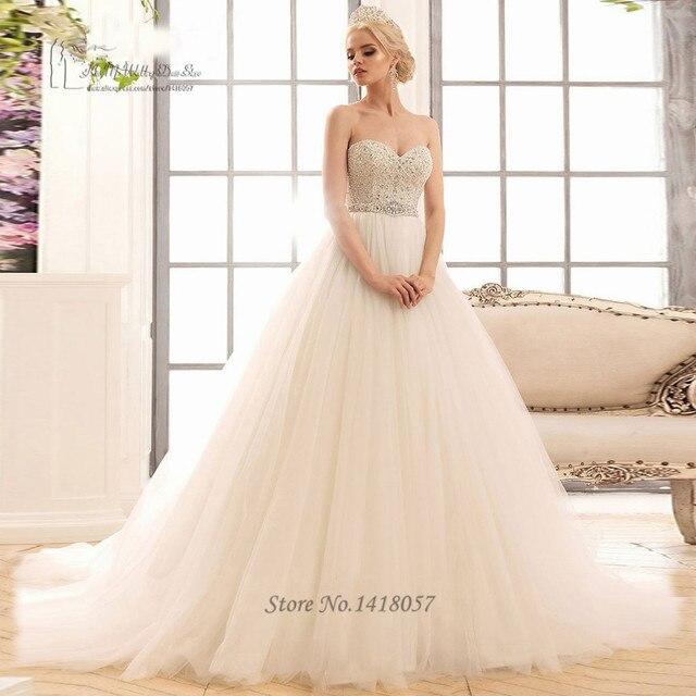 boho de diamantes de marfil vestidos de novia vestido de noiva