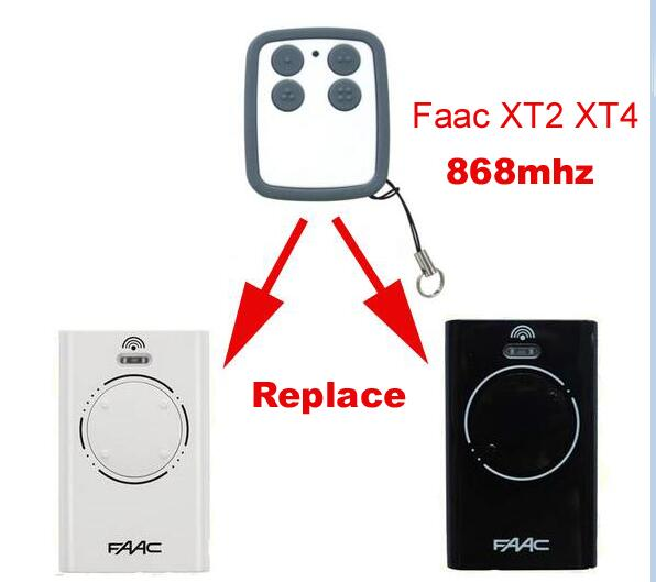 FOR FAAC XT2 XT4 868SLH compatible remote 868MHZ free shipping faac xt2 xt4 868 slh lr replacement garage door remote control 868mhz high quality