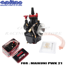 Motorcycle ATV 21mm Universal Carburetor Parts fit for PWK21 Mikuni Maikuni Scooters With Power Jet