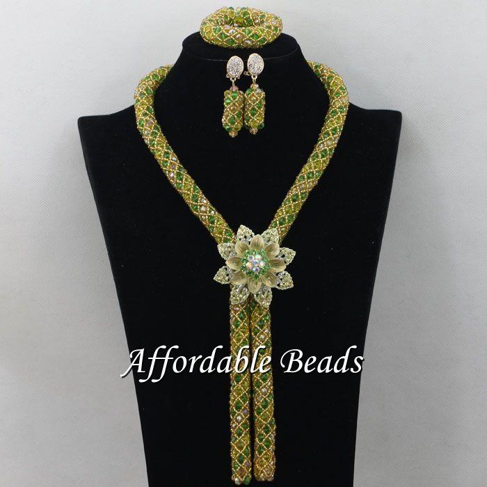 Nice Nigerian Traditional Beads font b Luxury b font Fashion Beads font b Jewelry b font