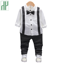 Toddler Boys Clothing Set Autumn Children's Clothing Sets Kids Baby Boy Suit Vest Gentleman Clothes For Weddings Formal Clothing