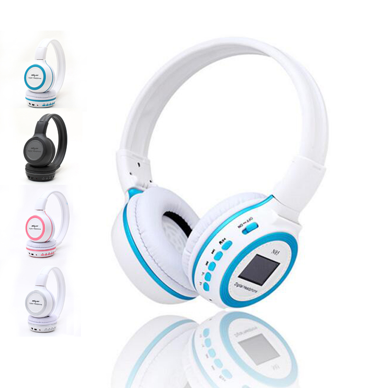 Wireless Headphone 6 in 1 N85 Digital Earphone Cordless Headset FM Music Player LCD Display SD