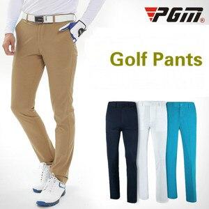 PGM весенние и летние брюки для гольфа Мужские дышащие быстросохнущие брюки для гольфа водонепроницаемые прямые брюки для гольфа одежда для ...