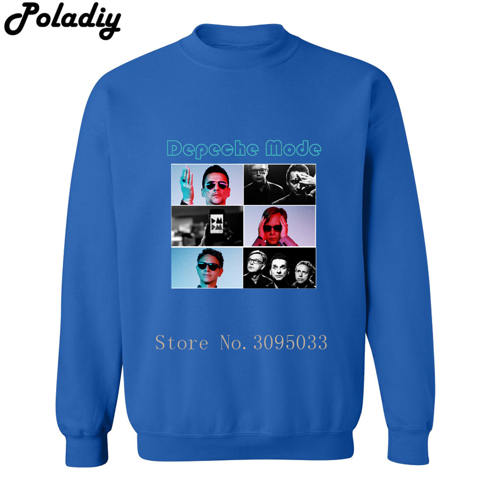 Depeche Mode Rock Band Music Autumn Fashion Brand Hoodies Streetwear Pullover Men Hoodie Winter Mens Printed Sweatshirts Hommer