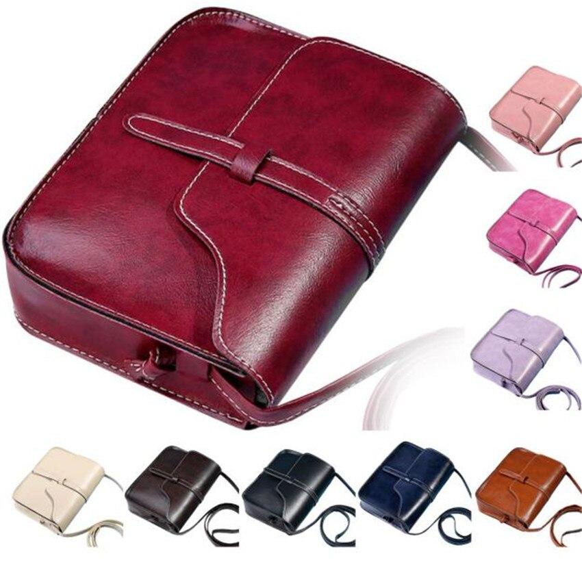 Vintage Purse Bag Leather Cross Body Shoulder Messenger Bag carteras y bolsos de mujer luxury handbags women bags designer S