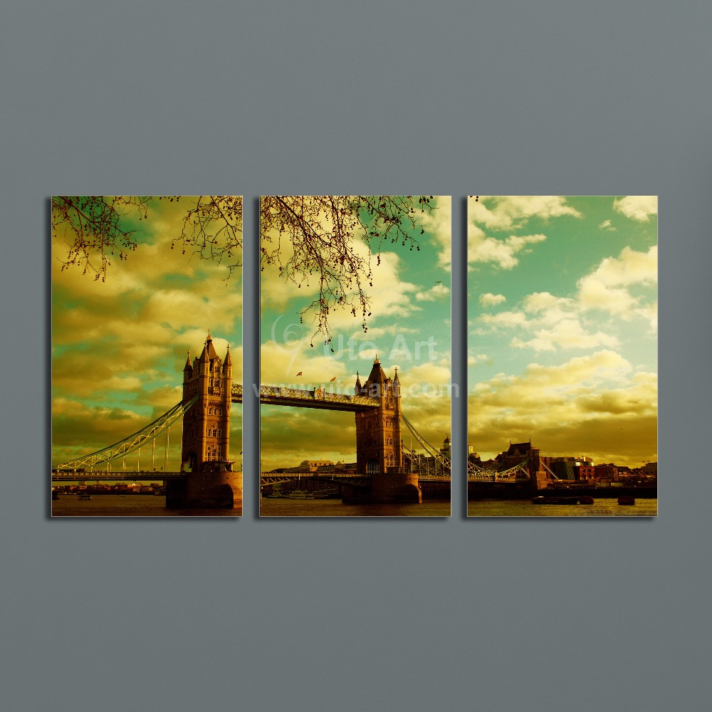Custom 3 Piece Wall Art Painting Pictures Print on Canvas Framed Art ...