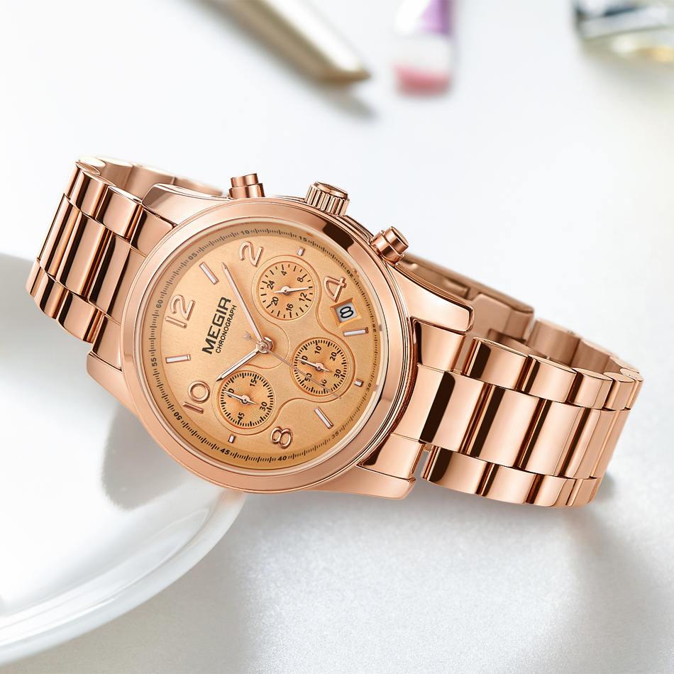 Tops Πολυτελή Μάρκα MEGIR Γυναίκες Casual - Ανδρικά ρολόγια - Φωτογραφία 4