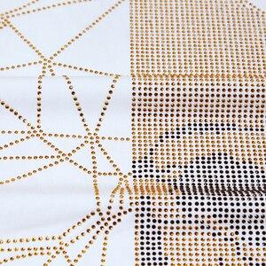 Image 4 - تي شيرت صيفي للرجال على شكل جماجم بأحجار الراين تي شيرت قطني مشروط برقبة مستديرة وأكمام قصيرة تي شيرت ضيق