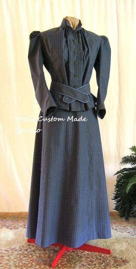 Custom Made 1800s Victorian Dress 1912 Edwardian&Titanic
