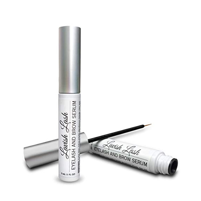 90ccb042414 Hairgenics Lavish Lash Eyelash Growth Enhancer & Brow Serum for Long,  Luscious Lashes and Eyebrows.
