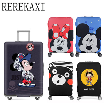 REREKAXI Elastic Luggage Case Cover Trolley travel dust cover19to 32inch Trolley Suitcase Elastic Dust Cover Travel Accessories