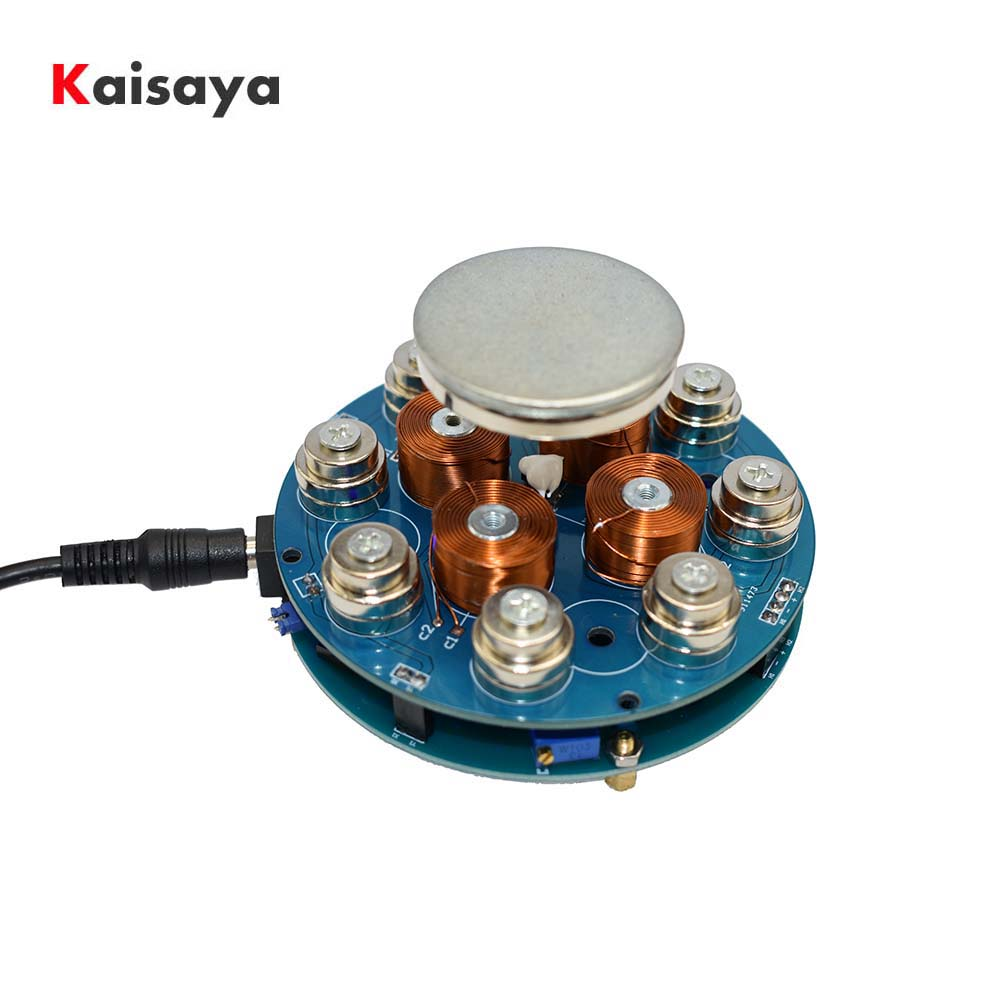 DIY Magnetic Levitation Machine Core DIY Kit Magnetic Levitation Module With LED Lamp Weight 300g