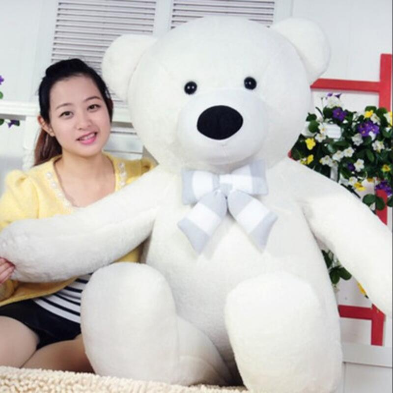 120cm Big Size Lovely Teddy Bear Plush Toy Hug The Bear Doll Stuffed Animal Sleep Pillow Valentine's Day Gifts stuffed animal 120 cm cute love rabbit plush toy pink or purple floral love rabbit soft doll gift w2226