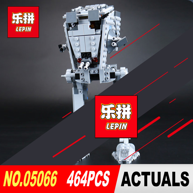 Lepin 05066 464Pcs Star Genuine Wars The Rogue One Imperial AT-ST Walker Set Building Blocks Bricks Educational Toy legoed 75153 1pc imperial death trooper rogue one 75156 diy figures star wars superheroes assemble building blocks kids diy toys xmas