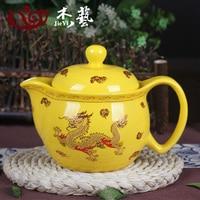 Jingdezhen Ceramic Teapot Large Blue And White Porcelain Teapot Single Pot Kung Fu Tea Set Teapot With Filter 50