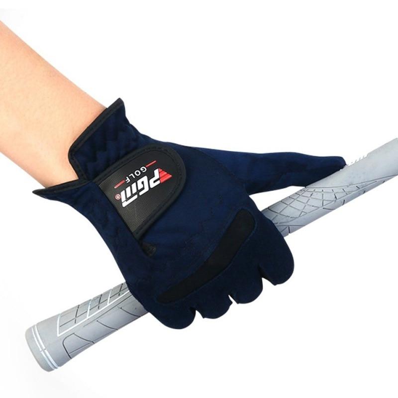 Women Golf Gloves for left hand Microfiber Soft Fit Sport Grip Mittens Durable gloves Anti-skid breathable Gloves