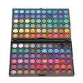 Venta caliente 120 Colores de Moda Profesional Polvo Sombra de ojos Cosméticos Mineral Maquillaje Paleta de Sombra de Ojos Maquillaje de Ojos Herramientas de Cosméticos
