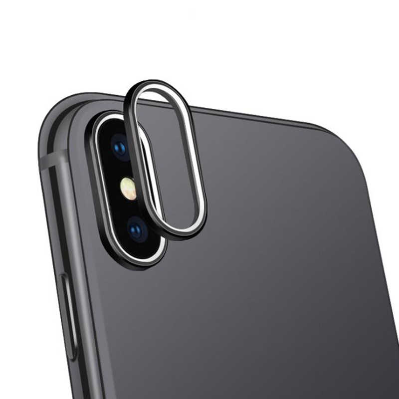 Camera Lens Protector Case Ring for iPhone X 10 Plating Aluminum Camera Case Cover Ring for iPhone 10 X Protection Accessories