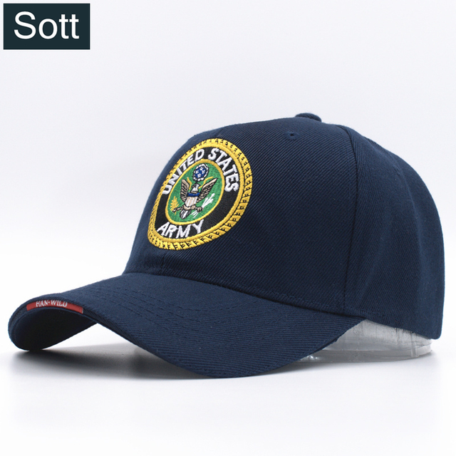 b87e6dfccf5  SOTT  2 Colors Mens Airborne United States Army Baseball Caps US Tactical Hats  for