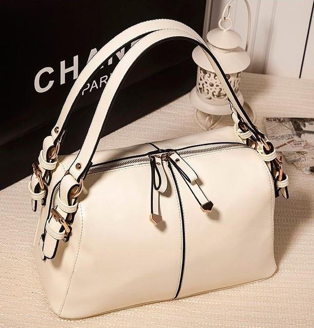 2013 brief the trend of female double zipper bags handbag fashion vintage one shoulder