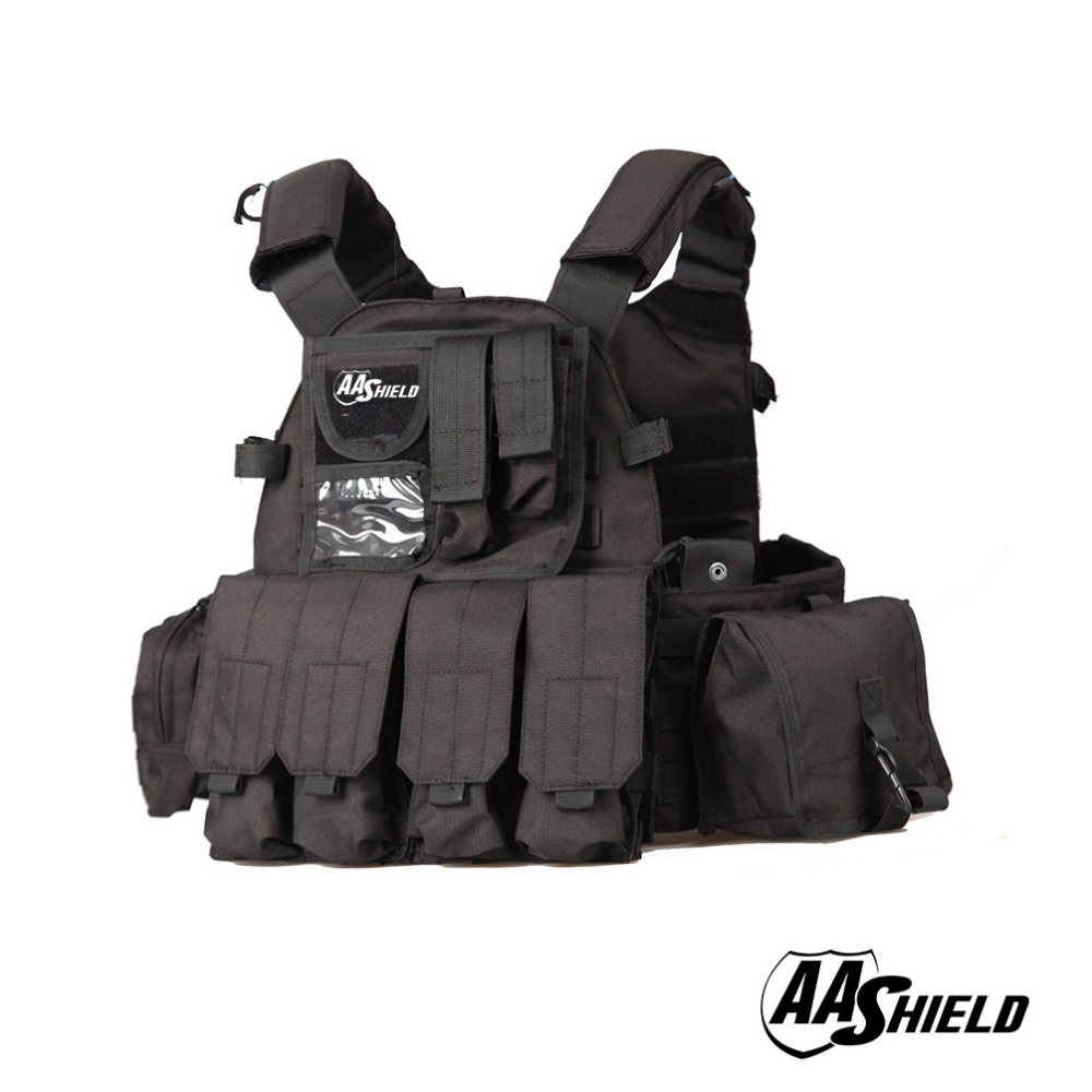 AA Shield Molle Plates Carrier 6094 Style Military Tactical Equipment Vest /Black aa shield molle plates carrier 6094 style military tactical equipment vest tan