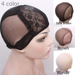 Wig cap for making wigs with adjustable strap on the back weaving cap size s m.jpg 250x250
