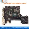 Scheda Madre del computer portatile Per MacBook Pro A1278 Scheda Logica 'MD101 4G i5 2.5 GHZ 820-3115-A Mid 2012