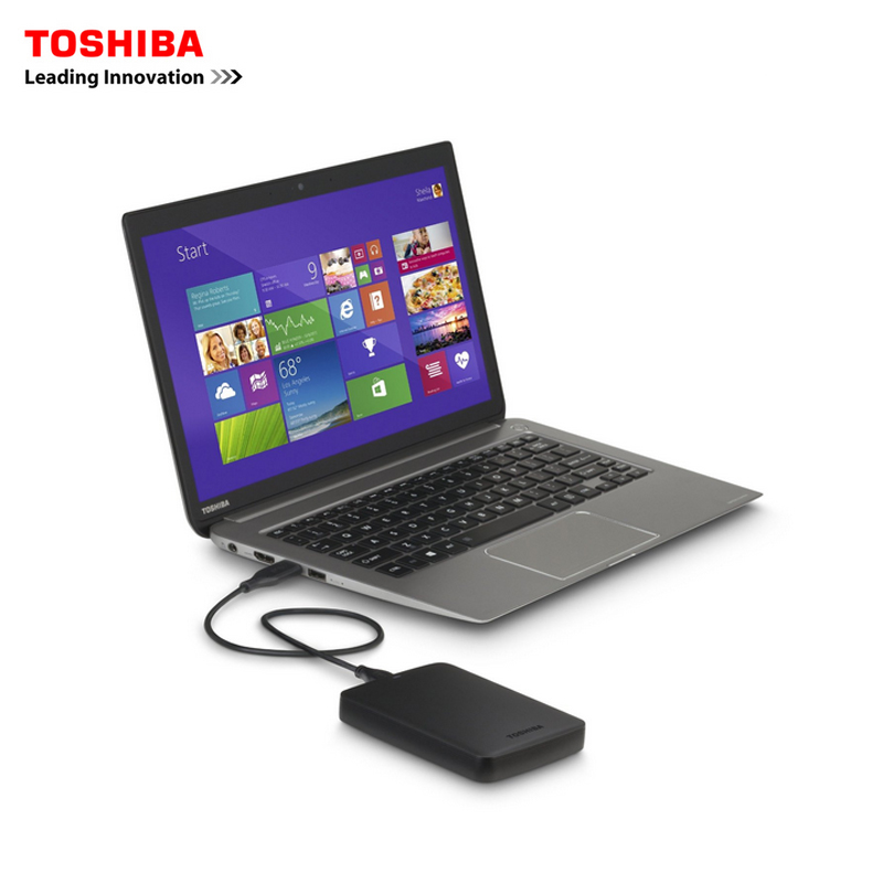 "Image 5 - Original Toshiba 1TB 500GB External HDD 2.5"" USB 3.0 5400RPM External Hard Drive 1TB Hard Disk Drive for Laptop Computer PC-in External Hard Drives from Computer & Office"